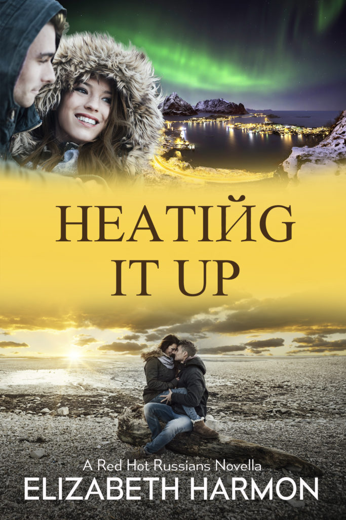 Heating It Up cover- small town romance set in Antarctica