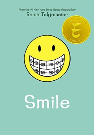 Smile by Raina Telegmaier teaches us that no one is normal.
