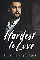 Book Cover Hardest to Love by Sidney Ivens