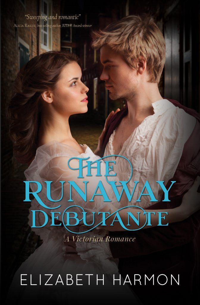cover of The Runaway Debutante by Elizabeth Harmon